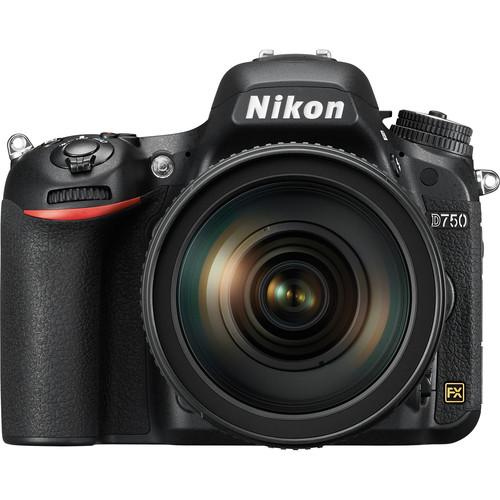 Nikon D750 FX body w/24-120 f/4G VR