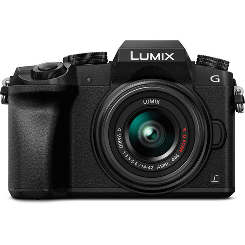 Panasonic Lumix DMC-G7 Camera with 14-42mm Lens (Black)